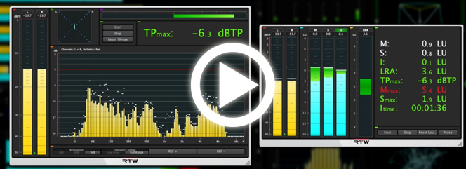 Video Tutorials Loudness Tools and Mastering Tools
