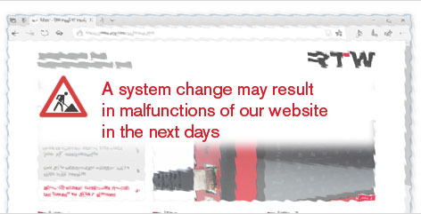 A system change may result in malfunctions