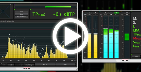 Video-Tutorials Loudness Tools und Mastering Tools